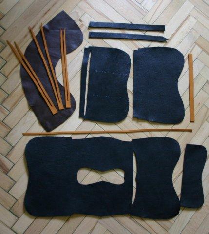 Описание: выкройки сумок из кожи.